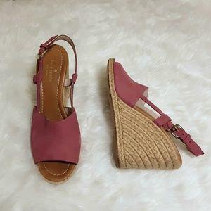 Size 10M Kate Spade Bowdon Espadrille Wedge Sandal